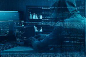 Hacker coding